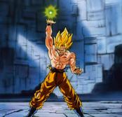 Goku técnica desconocida