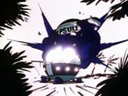 Nave Espacial de la corporación cápsula entrenamiento de vegeta-explosión