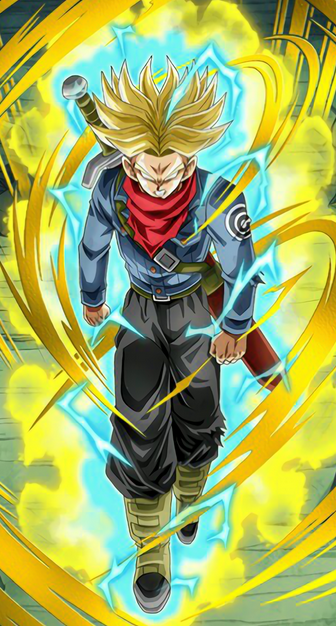 Future Trunks Ultra Super Saiyan Drawing