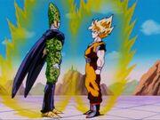 SS Cell vs SS Goku