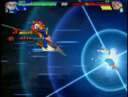 Tapion uses brave sword attack