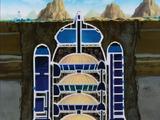 Babidi's spaceship