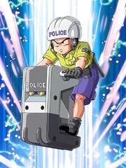 DBZ Dokkan Battle - polizia
