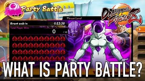 Dragon Ball FighterZ - XB1 PS4 PC - What is Party Battle mode?