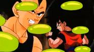 Enzimas del cuerpo de Boo-Vegeta y Goku