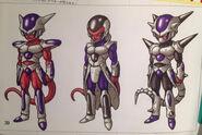 Frieza Race (Toriyama art) Heroes