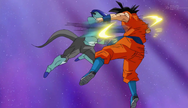 Frost vs Goku