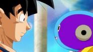 Goku y Zeno
