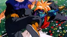 Gokua vs Trunks