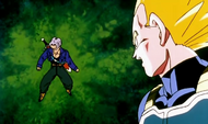 Trunks et Vegeta devant N°20