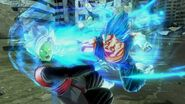 Vegetto Blue Ataque XV2