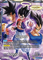 Gogeta base Dragon Ball Super Card Game