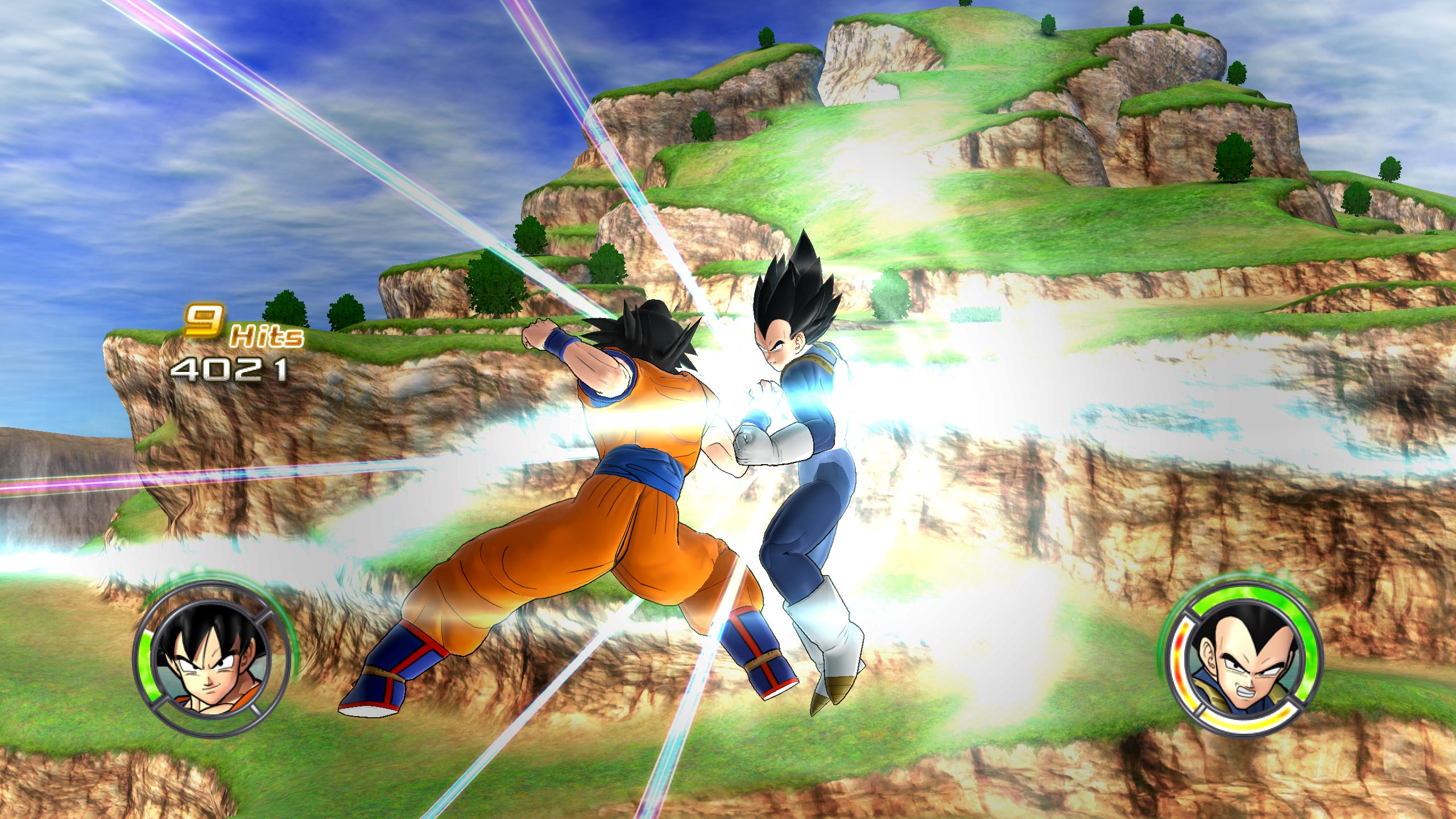 Image goku vs vegeta ruin area 16g dragon ball wiki goku vs vegeta ruin area 16g voltagebd Gallery