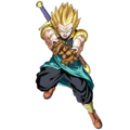Gotenks - Xeno (Super Saiyan) (Artwork)