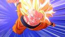 SS3 Goku charging in DBZ Kakarot