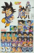 Sticker pagina Dragon Ball GT Perfect Files