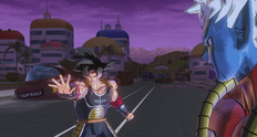 Bardock salva a Trunks