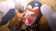 DBZ Kakarot - Goku vs Vegeta Oozaru