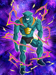 Dokkan Battle Boss Seeker of the Superhuman Water Gryll card (Story Event Vegeta's Demise ! The Secret of Planet Potaufeu - Gryll SR)