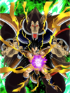 Dokkan Battle Warrior Race's Backbone Raditz (Great Ape) card (Base Form SSR-UR)