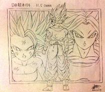 Goku Caulifla Kale (Takahashi)