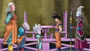 Kaioshins Goku y Weiss