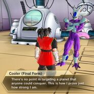 Cooler Force only conquer the strongest planets to challenge themselves - Xenoverse 2