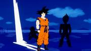 Ginew analizza i poteri di Son Goku