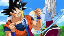 Goku convince Whis a portarlo con lui
