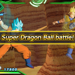 Super Dragon Ball Battle.