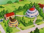 Casa de Goku y Gohan en el distrito del este