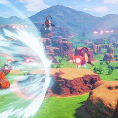 Goku vs i Robot.