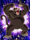 Dokkan Battle Savage Power Goku (Youth) (Great Ape) card (Great Ape Mode Kid Goku SSR-UR)