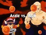 Arale vs. Blue