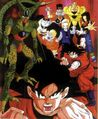 Goku vs Androides DBZ