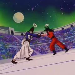 Paikuhan contro Son Goku.