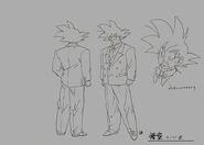 Sketch DBZ11 Goku (traje)