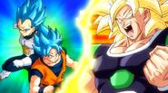 Super Broly vs Goku Vegeta SSGSS SDBH UM11
