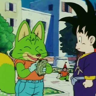 Konkichi e Son Goku a Yahhoi.