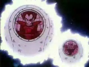 Nappa e Vegeta nelle Attack Ball