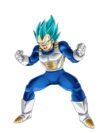 Vegeta SS Blue Artwork