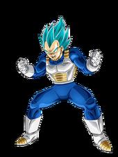 Vegeta SS Blue Artwork