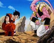Gohan Definitivo vs Super Buu (Gotenks)