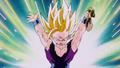 Gohan Releases Energy