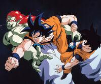 Goku salva Gohan