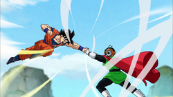 Great Saiyaman vs. Goku Black