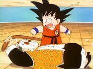 Abuelo Gohan vs Goku