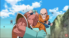 DXRD Caption of Krillin fights PTO soldier - Fukkatso No F