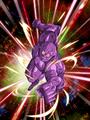 Dokkan Battle Boss Bio Warrior card (INT) (Bio Warrior Purple)