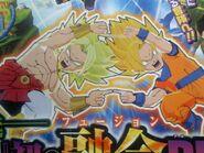 Fusión Broly y Goku